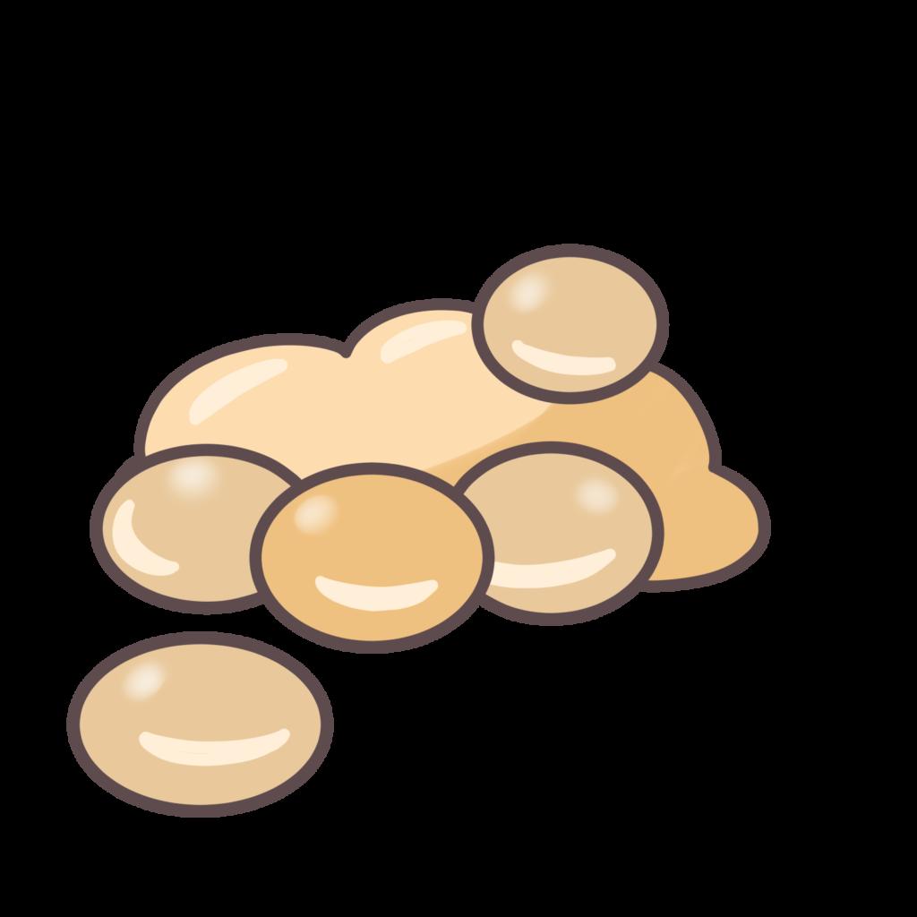 大豆のイラスト