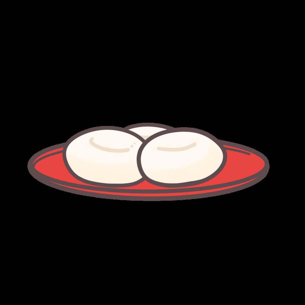 白玉団子のイラスト