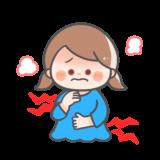 【医療】こどものアデノウイルス感染症(プール熱)のかわいいフリーイラスト