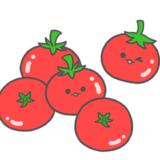 【栄養・食】ミニトマトのかわいいフリーイラスト