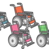車椅子のかわいいフリーイラストサムネ