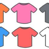 【生活・保育】Tシャツ(半そで)のかわいいフリーイラスト