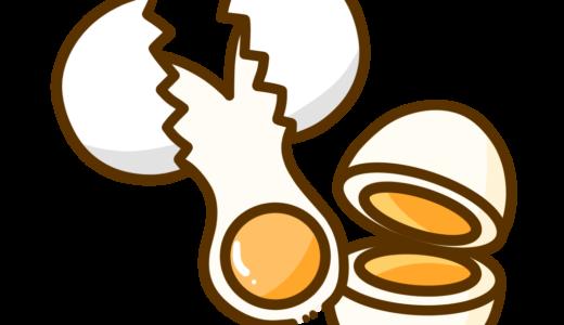 【医療・食べ物】特定原材料の卵のかわいいフリーイラスト