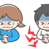 【医療・病気・症状】こどもの腹痛のイラスト