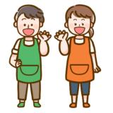 【保育】男性と女性の保育士さんのかわいいフリーイラスト