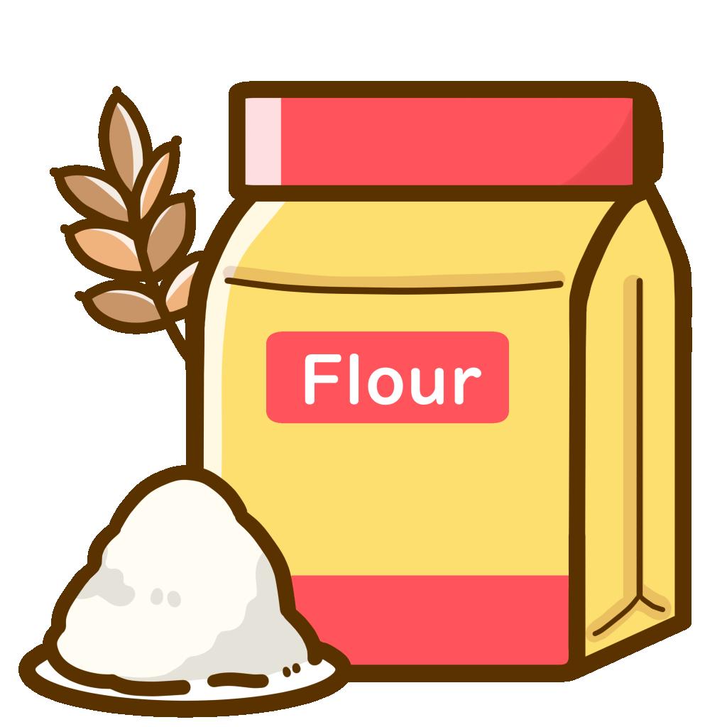アレルゲン-小麦粉