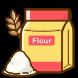 【医療・食べ物】特定原材料の小麦のかわいいフリーイラスト