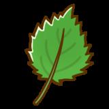 しその葉のイラスト